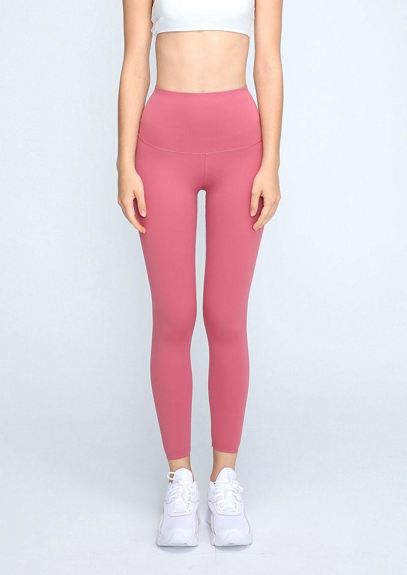 高腰收腹提臀升級版運動褲3.0-胭脂紅